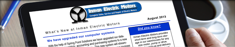 inman electric newsletter